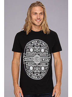 SALE! $17.99 - Save $10 on DC Heritage Hills Tee (Black) Apparel - 35.75% OFF $28.00