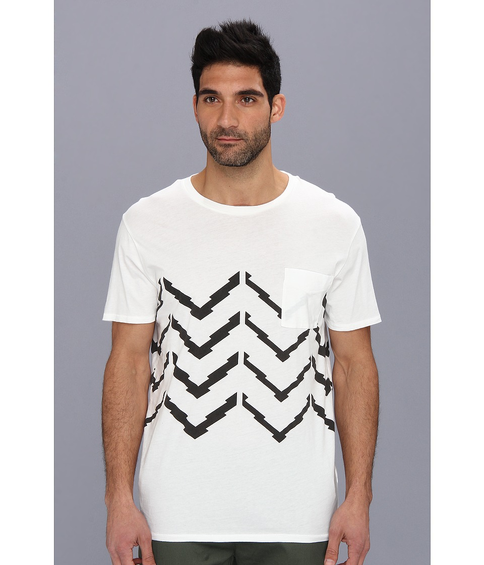Zanerobe - Chevron Tee (White) Men's T Shirt