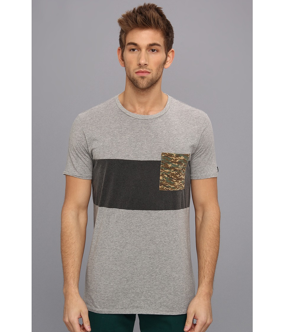 Zanerobe - Quest Tee (Light Grey Marle) Men's T Shirt