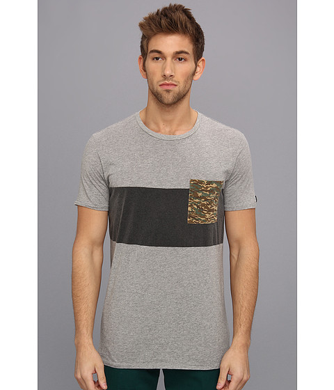 Zanerobe - Quest Tee (Light Grey Marle) Men