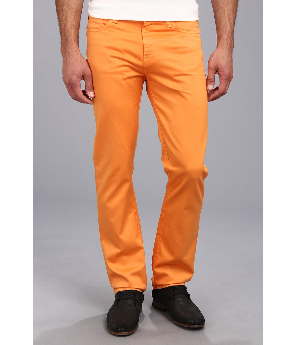 Culture Phit - Colton Straight Leg Regular Fit Pant (Orange) Men's Casual Pants