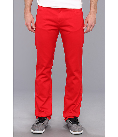 Culture Phit - Colton Straight Leg Regular Fit Pant (Red) Men's Casual Pants
