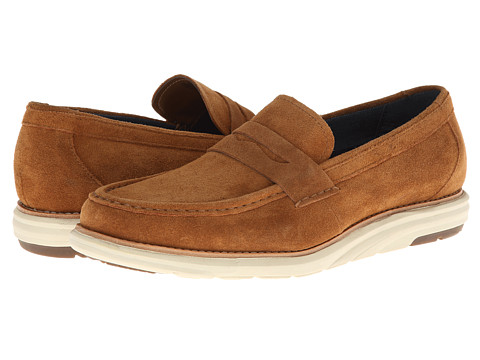 Dr. Scholl's - Dana - Original Collection (Chestnut) Men's Slip on Shoes