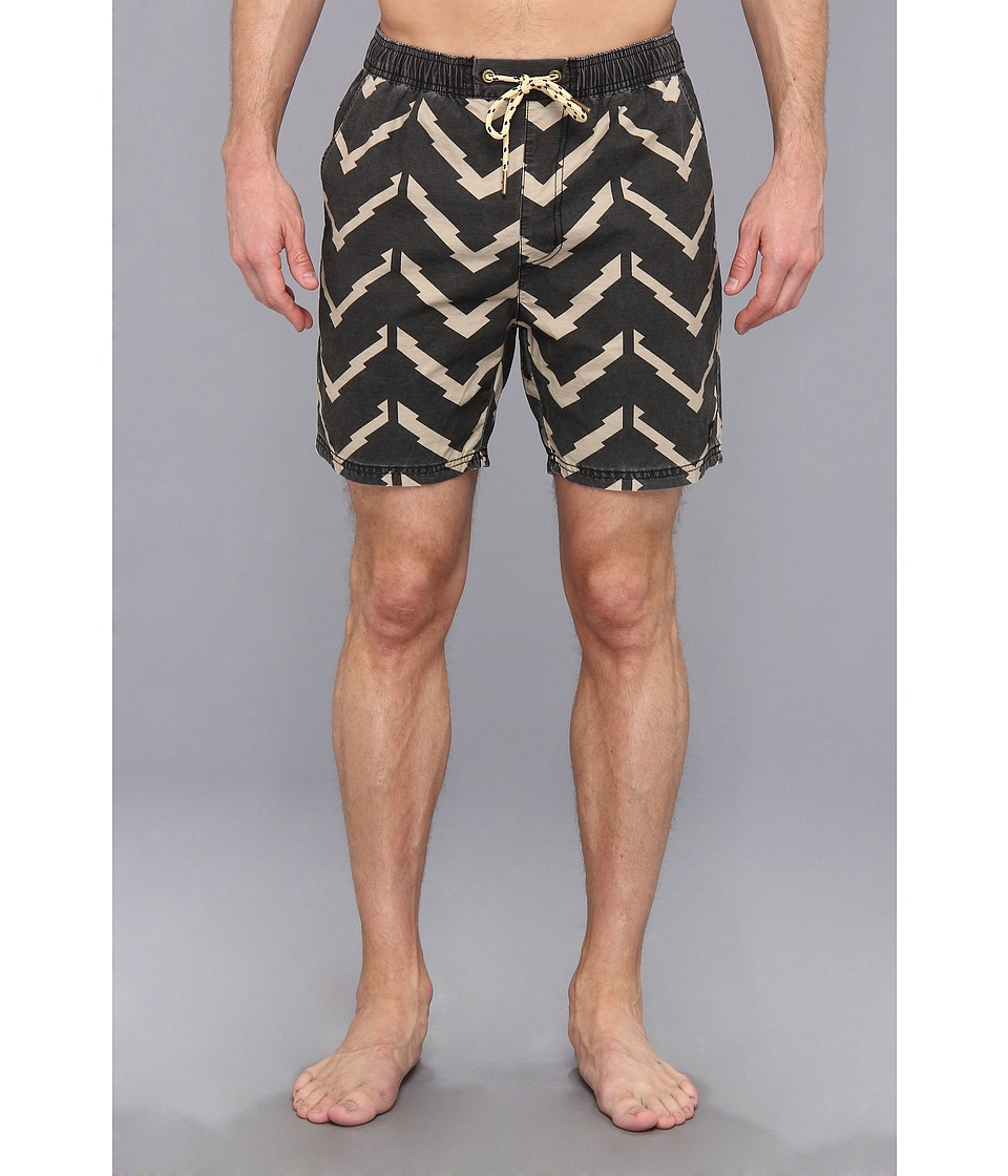 Zanerobe - Laguna Swim Short (Black) Men's Swimwear