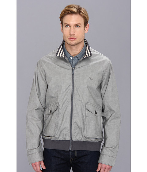 Rodd & Gunn - Wellington Harbour Jacket (Steel Grey) Men's Jacket