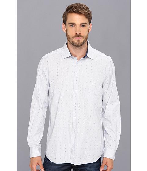 Rodd & Gunn - Nichol Bay Shirt (Snow) Men's Long Sleeve Button Up