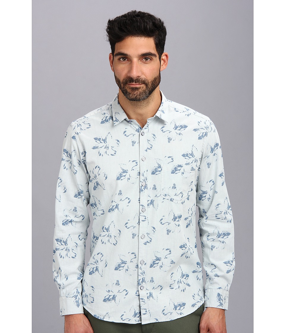 Rodd & Gunn - Turnbull Park Shirt (Chambray 2) Men's Long Sleeve Button Up