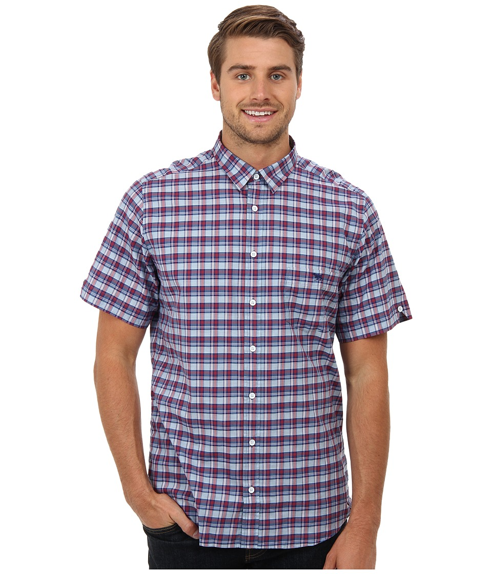 Rodd & Gunn - Charleston Shirt (Cherry) Men's Short Sleeve Button Up