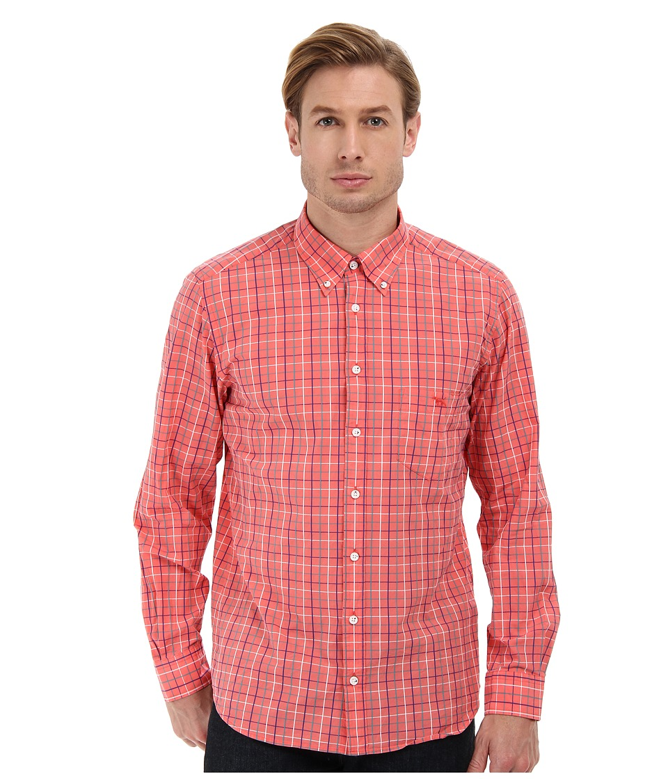 Rodd & Gunn - Curious Cove Shirt (Watermelon) Men's Long Sleeve Button Up