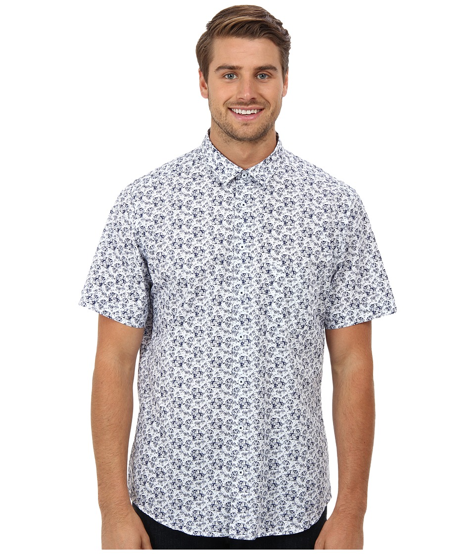 Rodd & Gunn - Dyson Shirt (Marine) Men's Short Sleeve Button Up