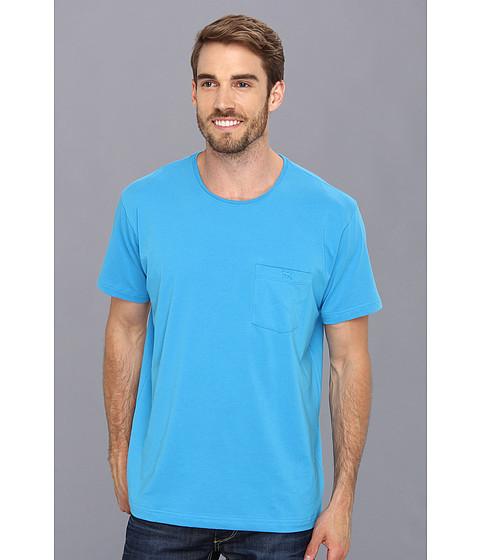 Rodd & Gunn - Bayswater T-Shirt (Cyan) Men's T Shirt