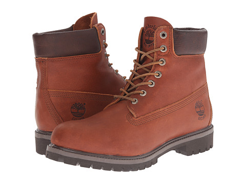 Timberland - Heritage 6 Premium Boot (Sundance Forty Leather) Men's Lace-up Boots