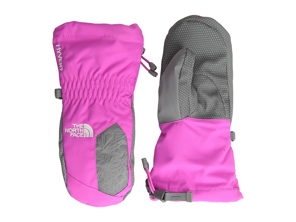 The North Face Kids - Girls' Montana Mitt (Big Kids) (Azalea Pink) Extreme Cold Weather Gloves