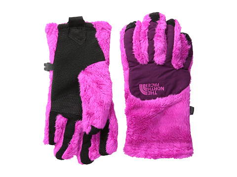 The North Face Kids - Denali Thermal Etip Glove (Big Kids) (Azalea Pink/Parlour Purple) Extreme Cold Weather Gloves