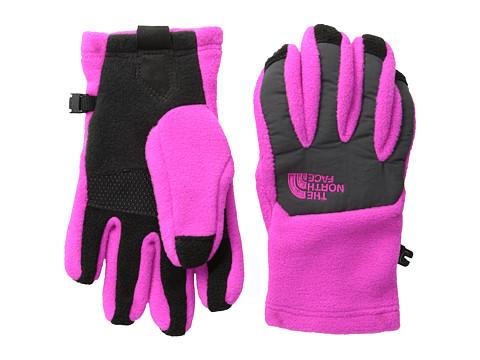 The North Face Kids - Denali Etip Glove (Big Kids) (Azalea Pink/Asphalt Grey) Extreme Cold Weather Gloves