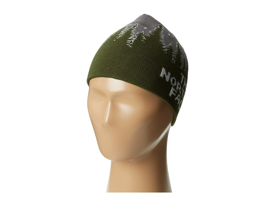 The North Face Kids - Anders Beanie (Big Kids) (Forest Night Green) Beanies