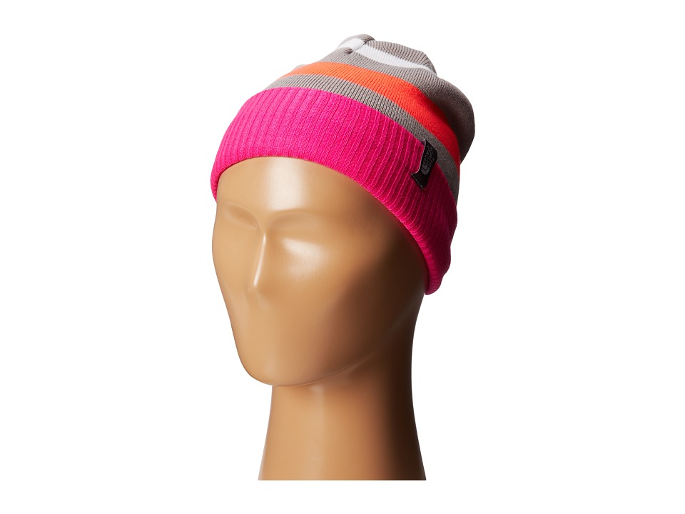 The North Face Kids - Pete N Repeat Beanie (Big Kids) (Azalea Pink) Beanies