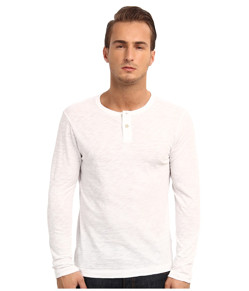 Theory - Gaskell HL (White) Men's Long Sleeve Pullover