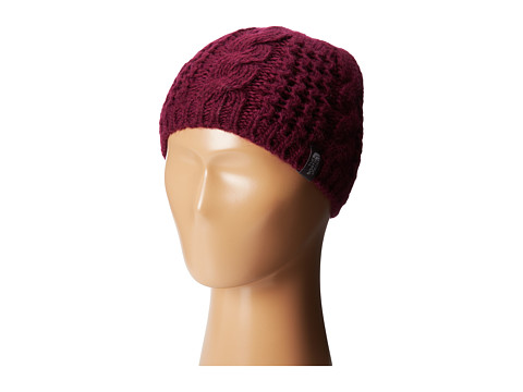 The North Face Kids - Cable Minna Beanie (Big Kids) (Parlour Purple) Beanies