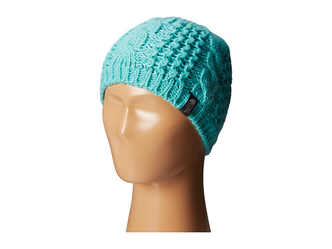 The North Face Kids - Cable Minna Beanie (Big Kids) (Mint Blue) Beanies