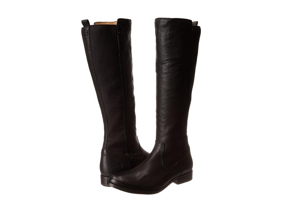 Frye - Molly Gore Tall (Black Buffalo Leather) Women's Shoes