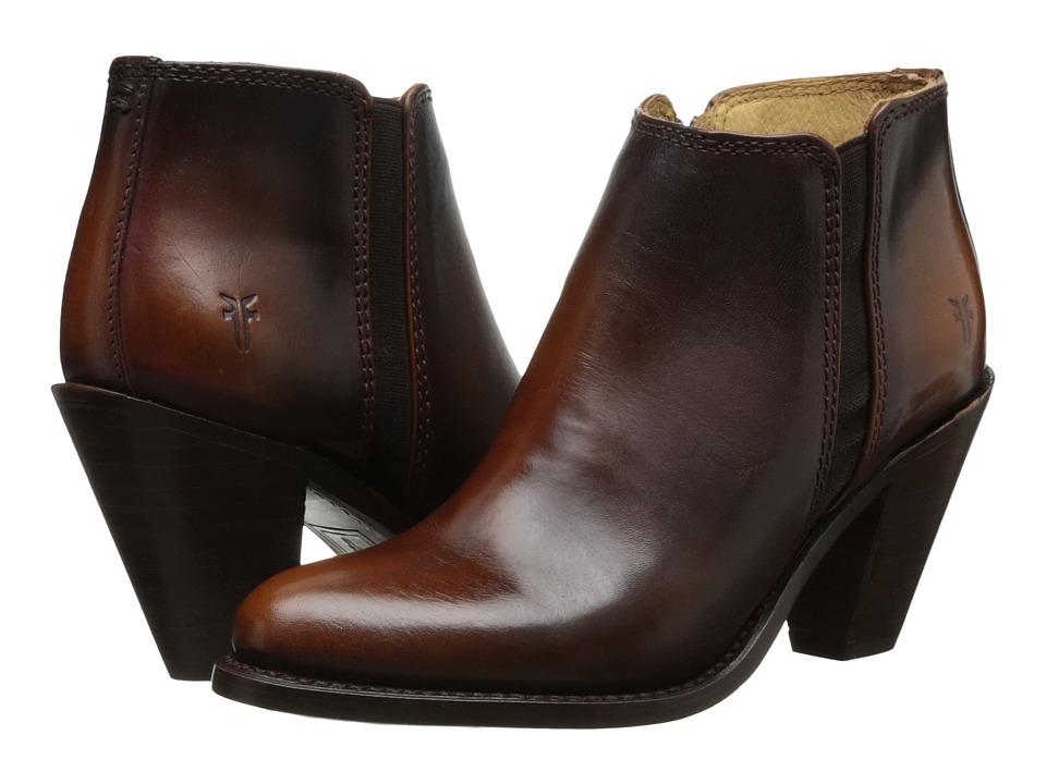 Frye - Mustang Gore Shootie (Redwood Antique Smooth Full Grain) Women's Zip Boots