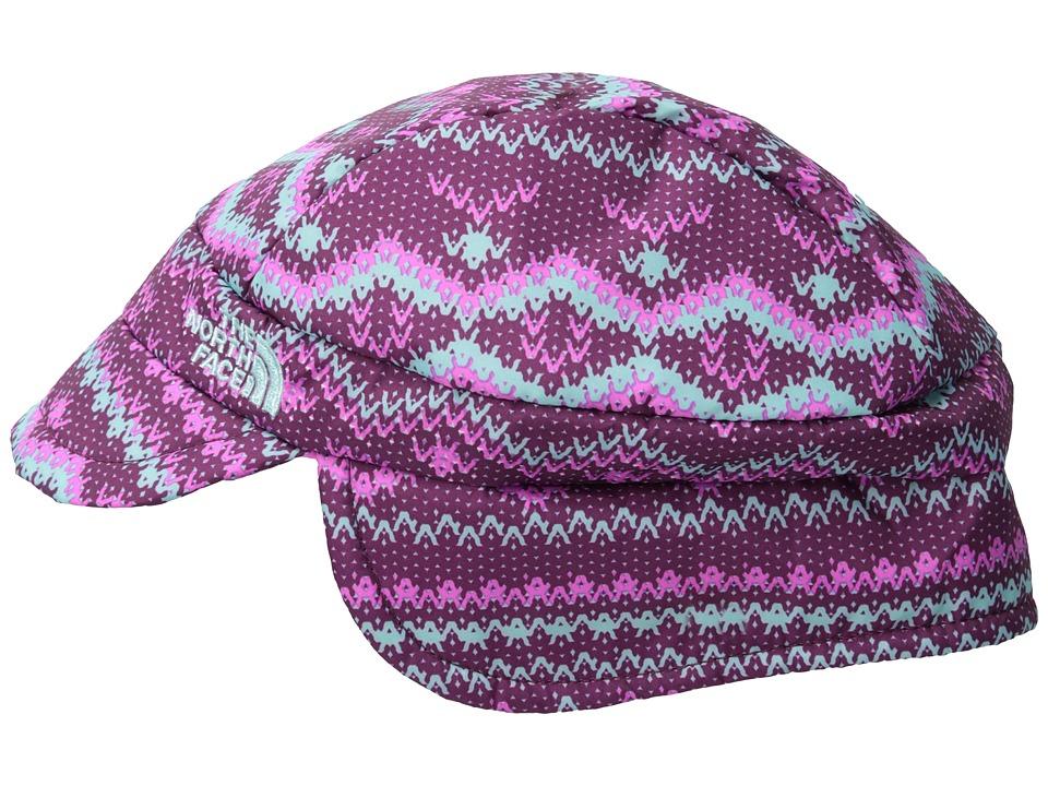 The North Face Kids - Flapjacks Hat (Infant) (Parlour Purple Print) Caps