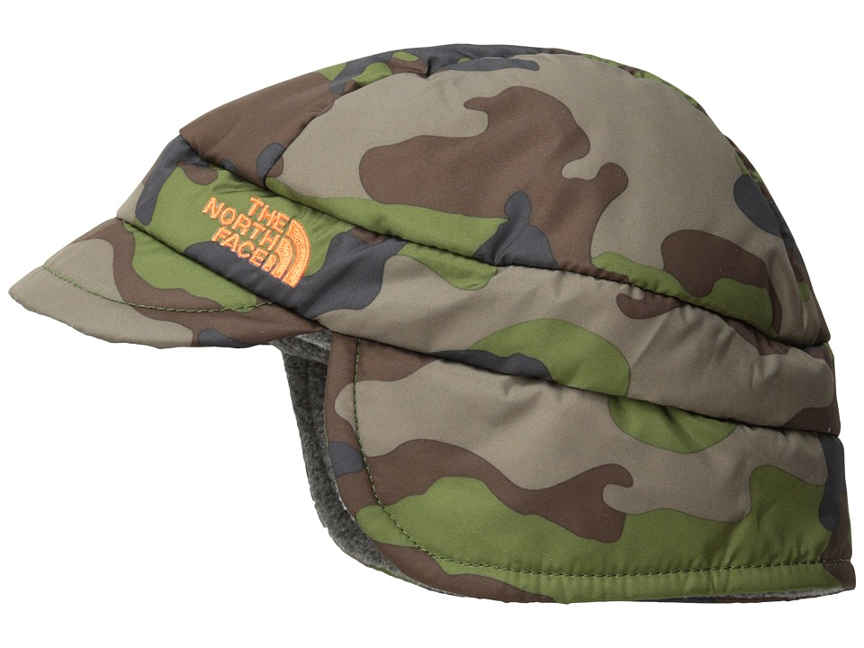 The North Face Kids - Flapjacks Hat (Infant) (Scallion Green Camo Print (Prior Season)) Caps