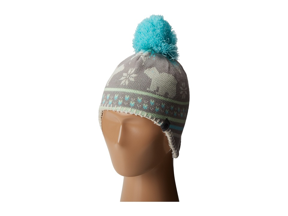The North Face Kids - Faroe Beanie (Infant) (Metallic Silver) Beanies