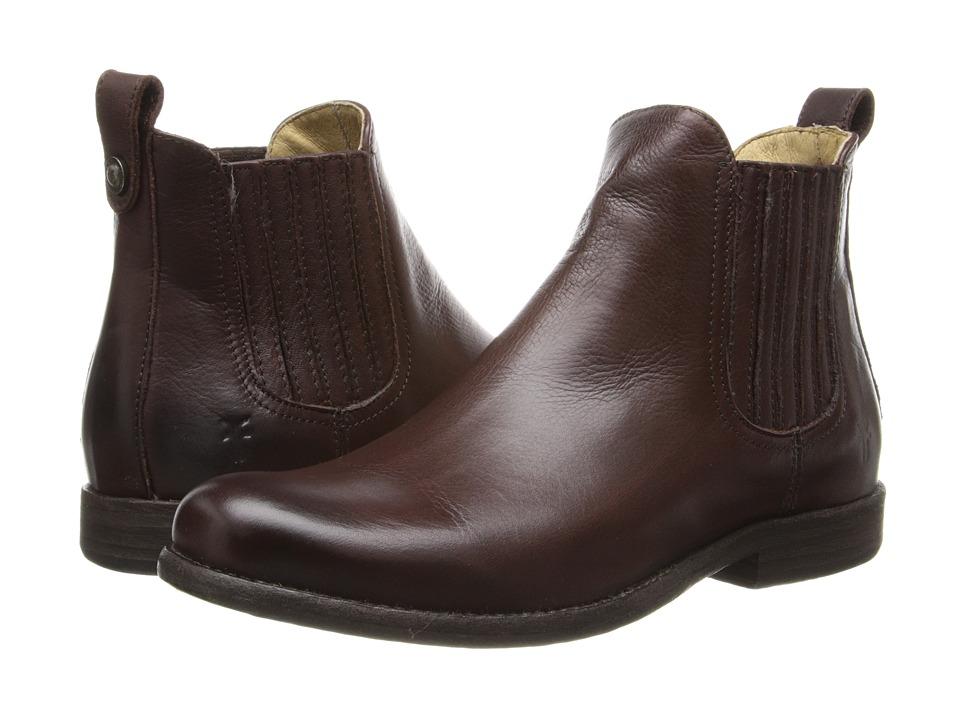 Frye - Phillip Chelsea (Dark Brown Soft Vintage Leather) Cowboy Boots