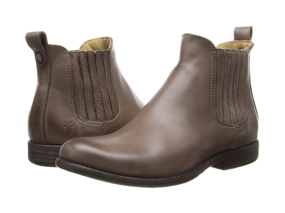 Frye - Phillip Chelsea (Grey Soft Vintage Leather) Cowboy Boots