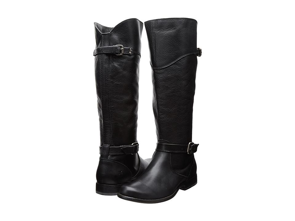 Frye - Phillip Riding (Black Soft Antique) Cowboy Boots