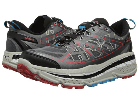 Hoka One One - Stinson ATR (Anthracite/Grey/Red) Men's Running Shoes