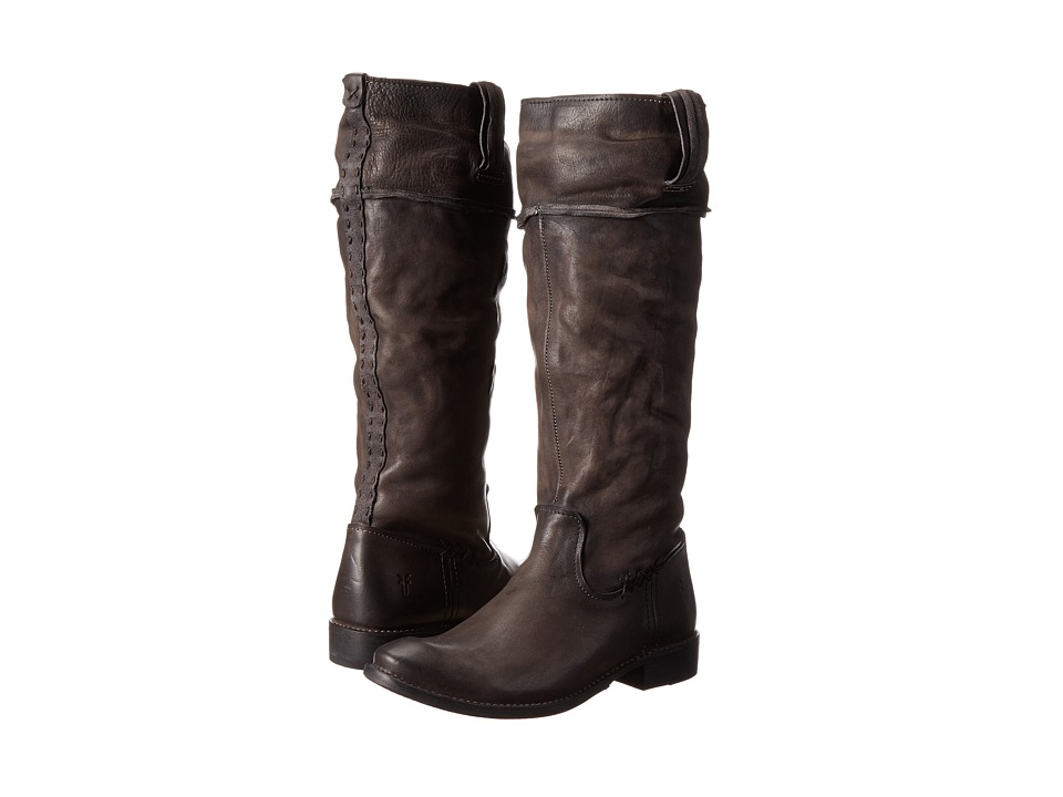 Frye Shirley Artisan Tall (Charcoal Washed Vintage) Cowboy Boots