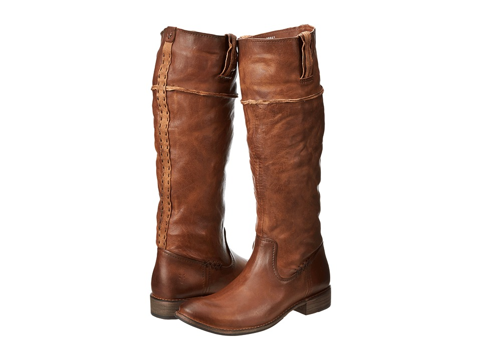 Frye - Shirley Artisan Tall (Whiskey Washed Vintage) Cowboy Boots