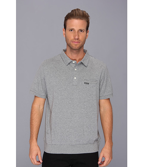 Members Only - Signature Polo Shirt (Grey Heather) Men