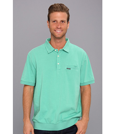 Members Only - Signature Polo Shirt (Lagoon) Men's Clothing