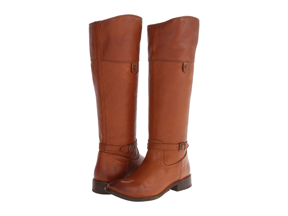 Frye - Shirley Rivet Tall (Whiskey Soft Vintage Leather) Cowboy Boots