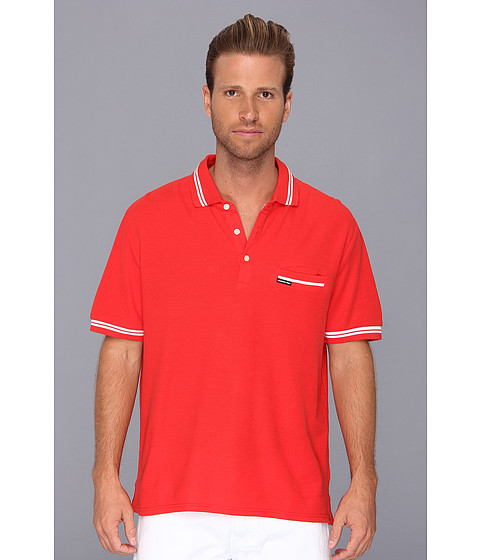 Members Only - Tipped Collar Polo Shirt (Sunset) Men