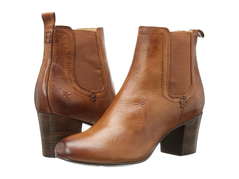 Frye - Stella Chelsea Short (Whiskey Soft Vintage Leather) Women