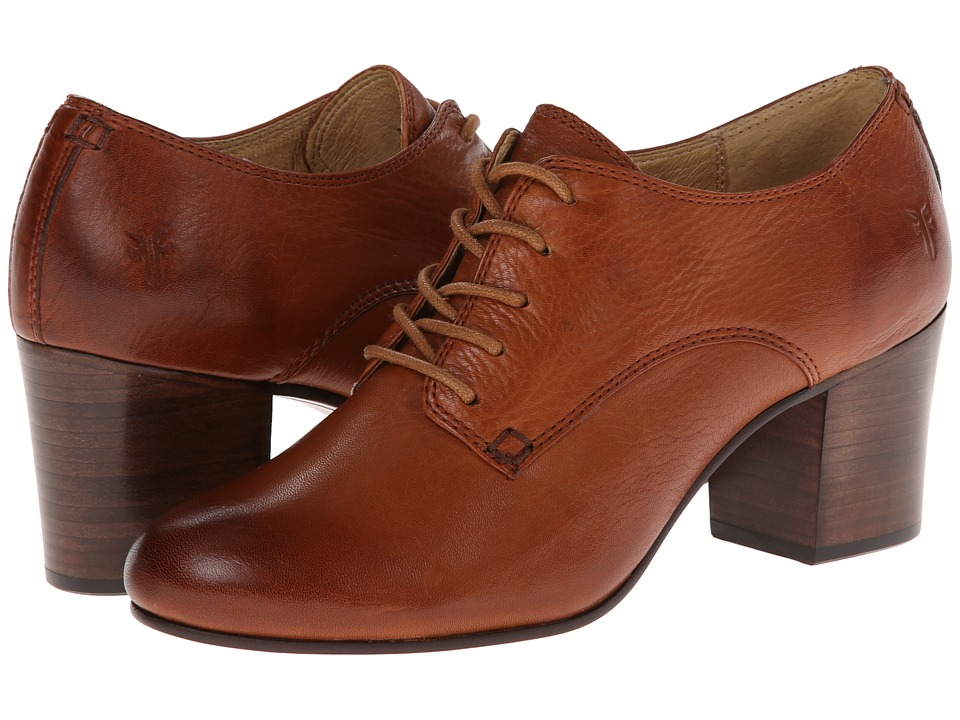 Frye - Stella Oxford (Whiskey Soft Vintage Leather) High Heels