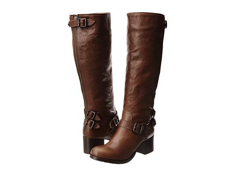 Frye - Vera Back Zip Tall (Copper Hammered Full Grain) Cowboy Boots
