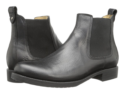 Frye - Veronica Chelsea (Black Calf Shine) Women