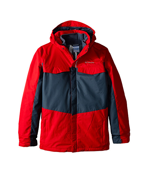Columbia Kids - Bugaboo Interchange (Little Kids/Big Kids) (Bright Red/Graphite) Boy's Coat