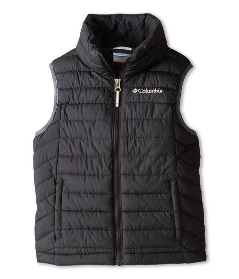 Columbia Kids - Powder Lite Vest (Little Kids/Big Kids) (Black/Graphite) Boy's Vest