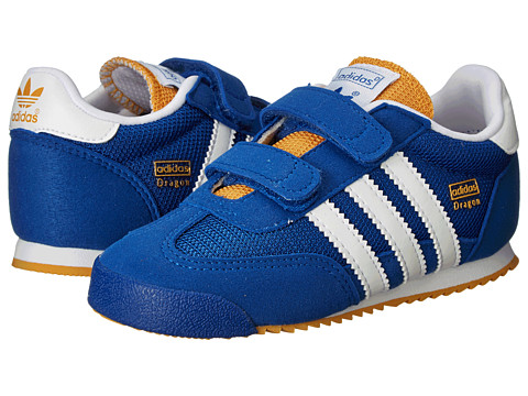 adidas Originals Kids - Dragon (Toddler) (Collegiate Royal/Core White/St. Goldenrod) Boys Shoes