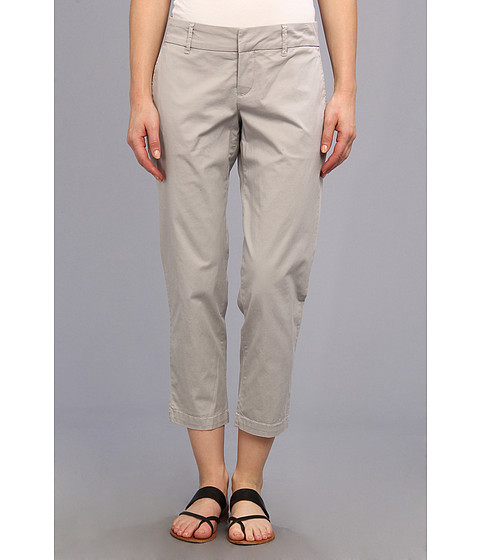 KUT from the Kloth - Relaxed Trouser Crop (Grey) Women's Casual Pants
