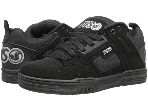 DVS Shoe Company - Comanche (Black/Silver Nubuck) Men's Skate Shoes