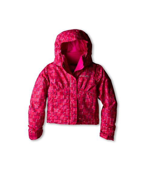 Columbia Kids - Flurry Flash Jacket (Little Kids/Big Kids) (Groovy Pink Print/Groovy Pink) Girl's Coat