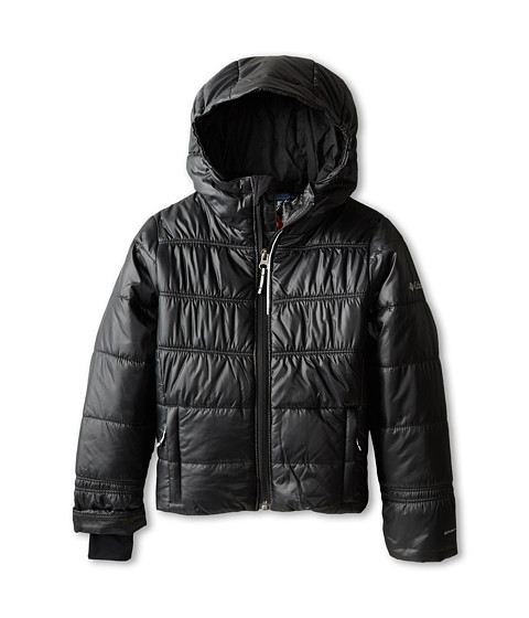 Columbia Kids - Shimmer Me II Jacket (Little Kids/Big Kids) (Black) Girl's Coat